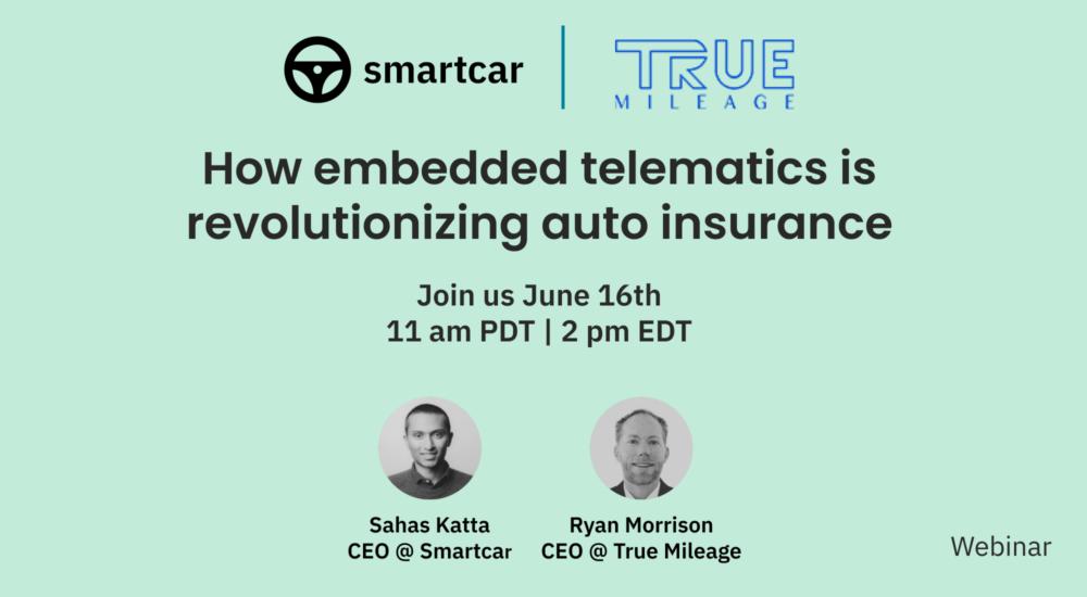 How Embedded Telematics Revolutionizes Auto Insurance